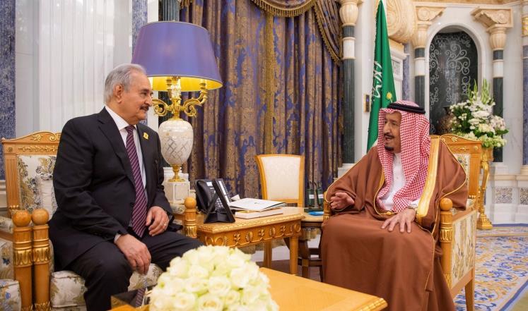 مصدر بالرئاسة الليبية: السعودية نسقت و مولت هجوم حفتر على طرابلس