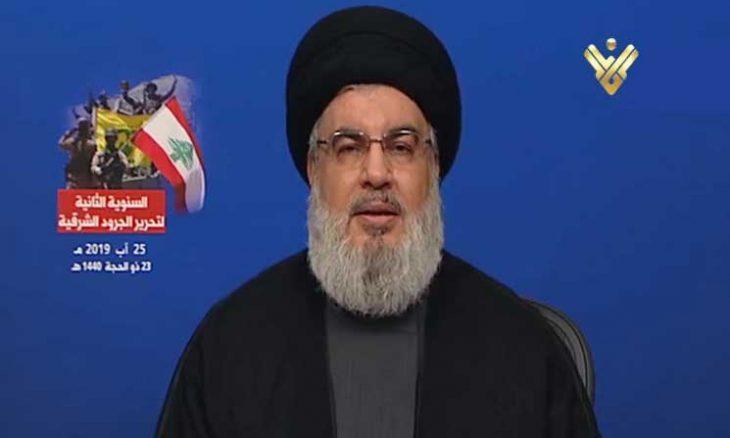 """حزب الله يتوعد بالرد على الهجوم الإسرائيلي على لبنان """"مهما كلّف الثمن""""ـ (فيديو)"""