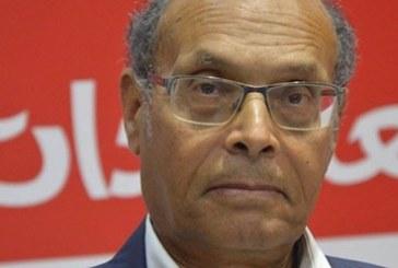 المرزوقي يقول انه فشل في اقناع الناخبين بالتصويت له ويتحمل المسؤولية في ذلك