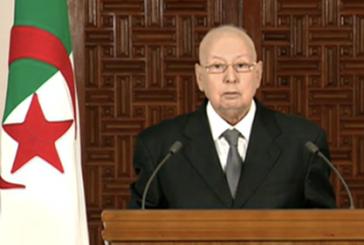 الجزائر: بن صالح يلقي خطابا هاما للأمة