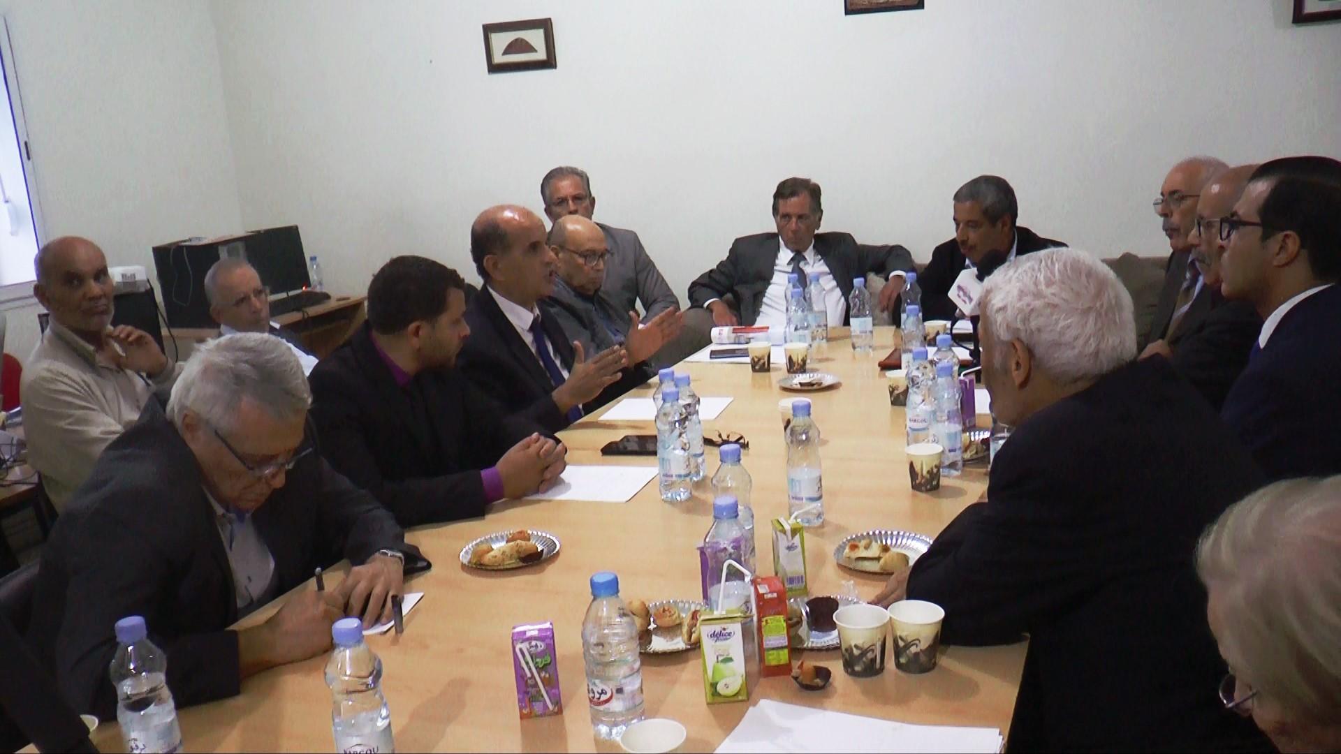 صور – ندوة تونسية فلسطينية بمناسبة مائوية وعد بلفور واتفاق سايكس بيكو