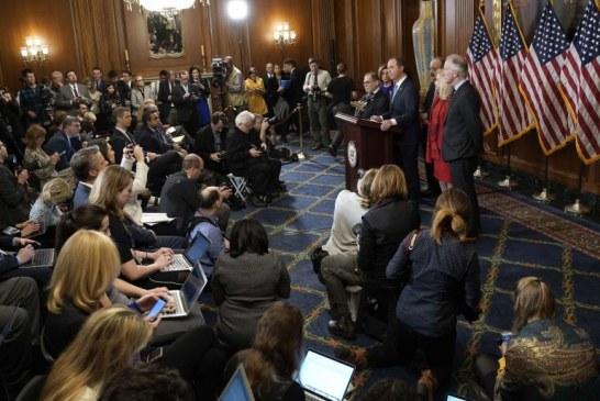 اللجنة القضائية بمجلس النواب الأميركي توجه لائحة اتهام لترامب