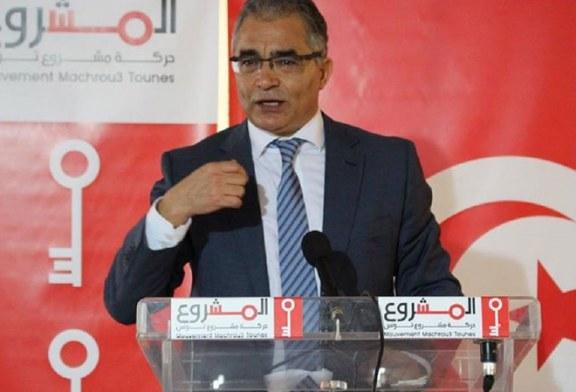 """محسن مرزوق يحذر من """"مخططات عنف تستهدف تونس خلال شهر جانفي القادم"""""""