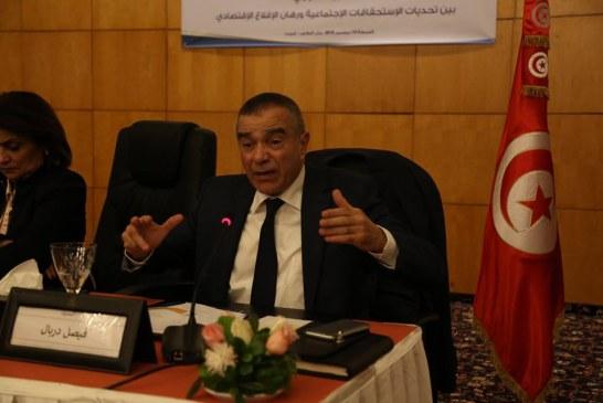 فيصل دربال : لا نجاح اقتصادي دون استقرار سياسي