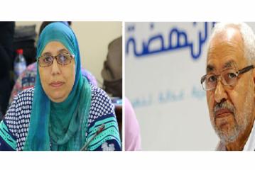يمينة الزغلامي: راشد الغنوشي مرشحنا للانتخابات الرئاسية
