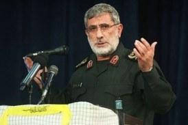 """قاآني للنخالة: إيران تقف مع الفلسطينيين ضد مؤامرة """"صفقة القرن"""""""